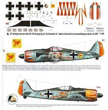 Peddinghaus 1/48 Fw 190 A-5/U7 Markings Hermann Graf EJGr Ost France 1943 738