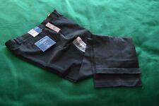 Nwt Dockers BLACK 38/32 Classic Fit Flat Front Khakis