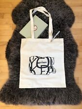 META New Yorker Tote Bag - Lightweight Cotton Canvas