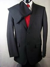 Jones New York Suit Mens Charcoal Striped Wool Size 38L NWT