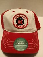 Vintage Legacy Nebraska Cornhuskers Hat Cap Adjustable Relaxed Twill NEW