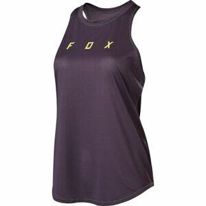 Fox Flexair Womens Tank Top Purple Size M Lightweight