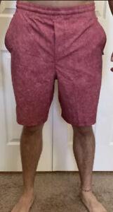 Lululemon Men Size M Pace Breaker Short 9 Lined Cherry Tint GRVC Train OOM Swift
