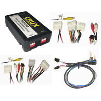 CRUX Radio Replacemnt w/SWC & JBL Amp Retention for Toyota/Lexus SWRTY61J