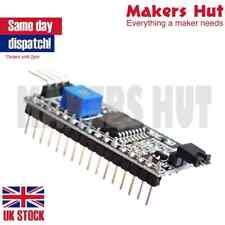 IIC I2C Serial Interface Board Module Port LCD1602 Display Arduino PIC Pi ARM UK