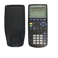 Texas Instruments TI-83 Plus Graphing Calculator TESTED WORKING w/ Cover Black