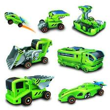 7 In 1 Assemble Vehicle Toy Rechargeable Solar Power Car Kit Educational Toy New