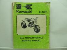 1982 Kawasaki Kl250 Atv All Terrain Vehicle Motorcycle Service Manual L13166