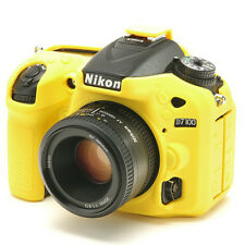 EasyCover Pro silicone CAMERA ARMOR CASE to Fit Nikon D7100 & D7200 Jaune
