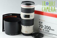 Canon EF 70-200mm F/4  L IS USM Lens #17379#7/11