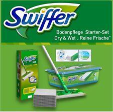 """Swiffer Set Bodenwischer + 8 Tücher + 24 feuchte Bodentücher WET """"reine Frische"""""""