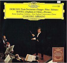 Debussy: Nocturnes; Ravel: Daphnis Et Chloé, Pavane Pour Une.. / Abbado - LP DGG