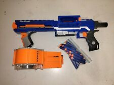 Nerf N-Strike Elite Rampage Blaster With 25 Round Drum Magazine and 20 Darts