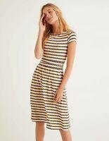 Boden Kleid - Amelie Jersey Dress - Jerseykleid Taschen NEU - UK 12 EU 40