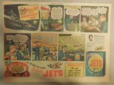 Sugar Jets Cereal Ad: Major Jet and The Phantom Desert Lights from 1950's
