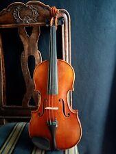 """Schöne Violine / Geige m. Zettel """"Max Renz, Magdeburg"""""""