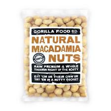 Gorilla Food Co. Macadamia Nuts Whole - 100g (Great value £ per 1kg)