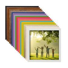 L15 Kunststoff Bilderrahmen quadratisch 10x10 15x15 20x20 30x30 40x40 50x50 bild