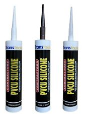 Transtools LMN Silicone Sealant Low Modulus Neutral Cure Window Door Mastic