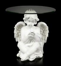 Minore Tavolino - Bianco Angelo - Fantasy Tavolo Sgabello Decorazione Cherubini