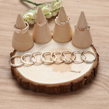 Set of 12 Rings Boho Knuckle Fashion Gold Heart Love Diamond Thumb Stack Jewelry