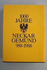 Günther Wüst - 1000 Jahre Neckargemünd 988-1988