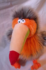 "Gund #12042 Cookoo Bird Toucan 12""(sitting) Soo Funny Hairoids Dohicky"