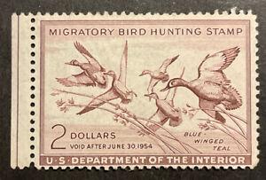 TDStamps: US Federal Duck Stamps Scott#RW20 Mint H OG Thin