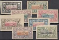 Bi6113/ FRENCH SOMALILAND – 1894 / 1900 USED CLASSIC LOT – CV 160 $