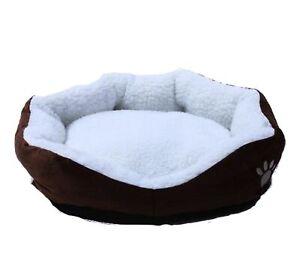 Plüsch Hundebett und Katzenbett für kleine Hunderassen und Katzen