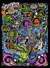Day Glow Zodiac STICKER Decal Dirty Donny Creative Space Wizard Octopus DD77
