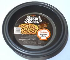 New listing Baker's Secret by Echo - Pie Plate with Juice Saver Rim and Non-stick