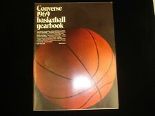1969 Converse Basketball Yearbook EX+