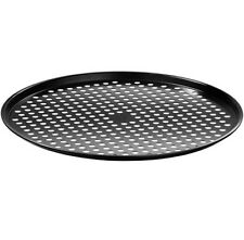 NON STICK PIZZA OVEN CRISPER Kitchen Cookware Round Carbon Steel Tin Tray Pan