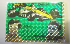 ADESIVO AUTO F1 anni '80 / Old Sticker RENAULT RE 60 TAMBAY WARWICK (cm 10x7)