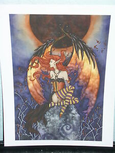 Amy Brown - Another Eclipse - OUT OF PRINT - RARE