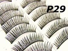 10 Paires Faux Cils Naturel Complet Maquillage P29 - Buy 2 Achetés 1 Offert