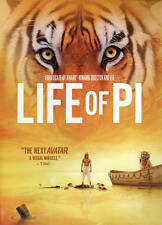 Life of Pi (DVD 2013) New Sealed