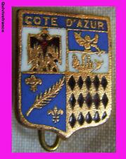 BG2677 INSIGNE BLASON COTE D'AZUR
