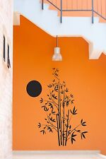 Wall Stickers Tree Bamboo Flower Sun Decor for Living Room z1307