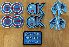 More details for 7 x vintage manchester city coffer collectors football patches