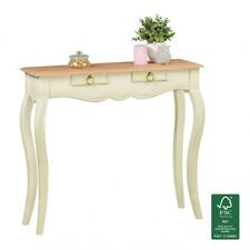 Console table Shabby Chic Hallway Baroque dresser Secretary Hall Solid wood 90cm
