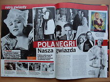 POLA NEGRI in Polish Magazine KROPKA TV 16/2016