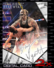 2X 2020 SIGNATURE SERIES WAVE 1 SILVER BRAY WYATT TOPPS WWE Slam Digital