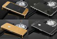 Carbon Fibre Full Body Decal Skin Protector Sticker Case For All Apple iPhone