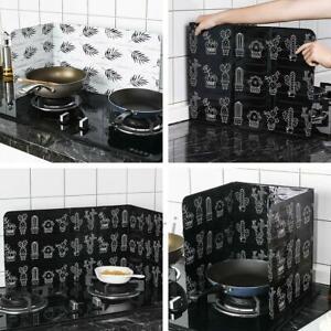 Kitchen Cover Screen Anti-Splatter Oil Splash Shield Guard Cooking Frying Pan AU