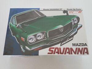 RARE NEW OLD STOCK FACTORY SEALED FUJIMI 1/24 MAZDA SAVANNA GT MODEL