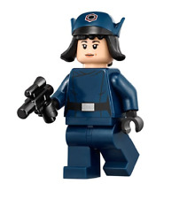 LEGO STAR WARS LAST JEDI MINFIGURE ROSE FIRST ORDER DISGUISE WITH BLASTER 75201