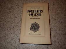 1935.Portraits souvenir.Un des 500 ex.sur alfa.Cocteau