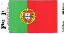 PORTUGAL FLAG LAMINATED CAR SELF ADHESIVE VINYL DECAL STICKER NEW